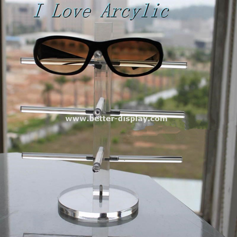 Rotating Acrylic Sunglasses Display Stand Btr-E1020