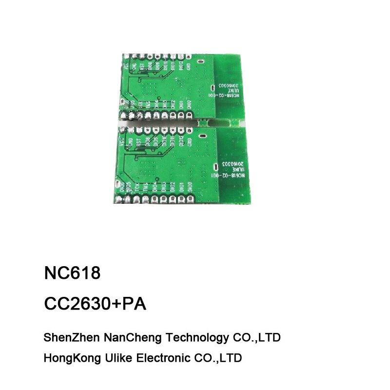 Cc2630 +PA Zigbee Wireless Module for Home Automation Cc2630 Cc2592 RF Module