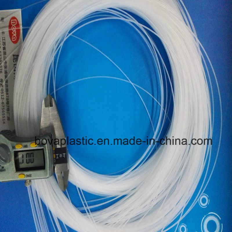 0.8mm Outer Diameter Lubrication Medical Grade Plastic Tube