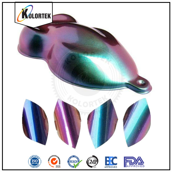 Kolortek Chameleon Pigment, Color Changing Car Colour Pigment