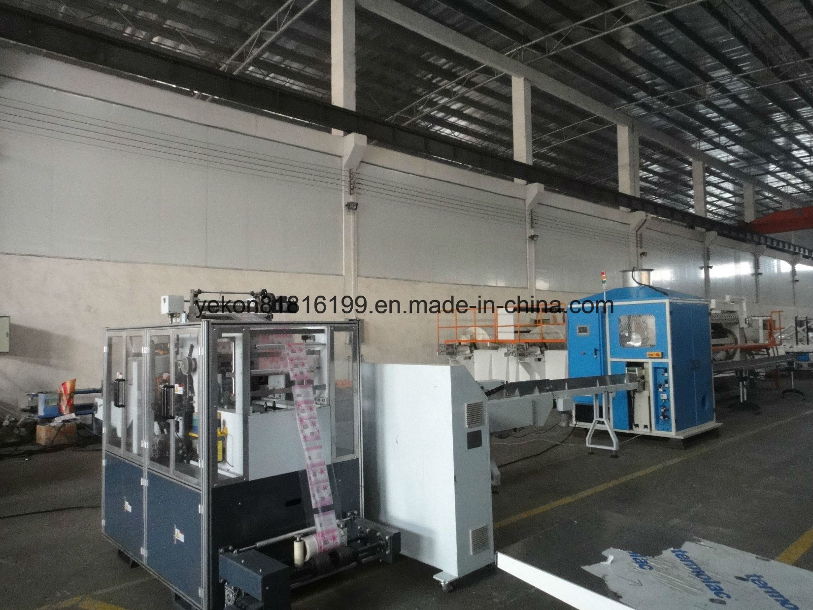 14 Line Tissue Folding Machine