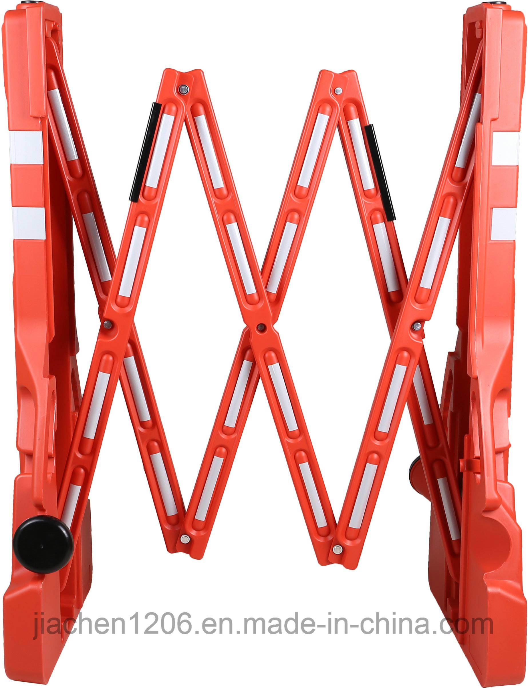 Wholesale Road Barricades Manufacturers Plastic Traffic Pedestrian Expandable Barricade