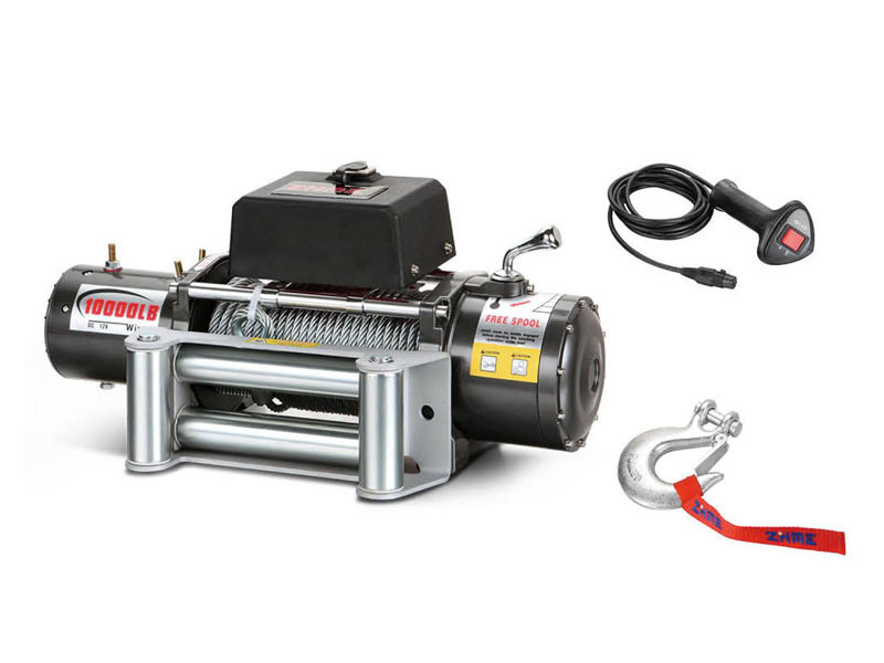 High-Quality 12V/24V Electric Winch (12000LBS-A)