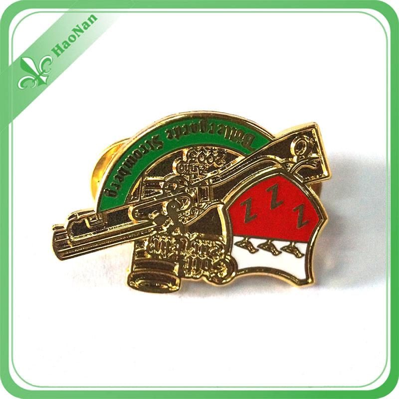 Promotional Gift Custom Metal Badge for Souvenir