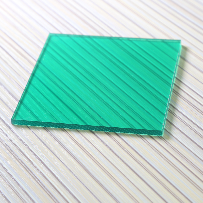 Polycarbonate Solid Sheet Hollow Sheet Corugated PC Sheet for Swimming Pool Cover