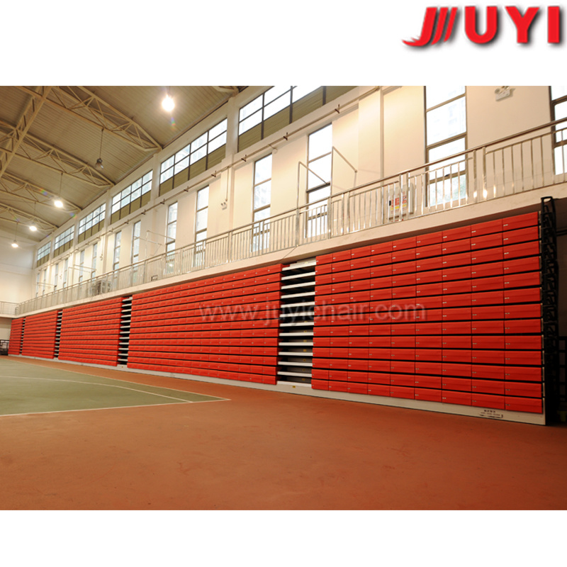 Jy-750 2015 Best Steel Retractable Stage Wood Portable Indoor Bleachers Arena