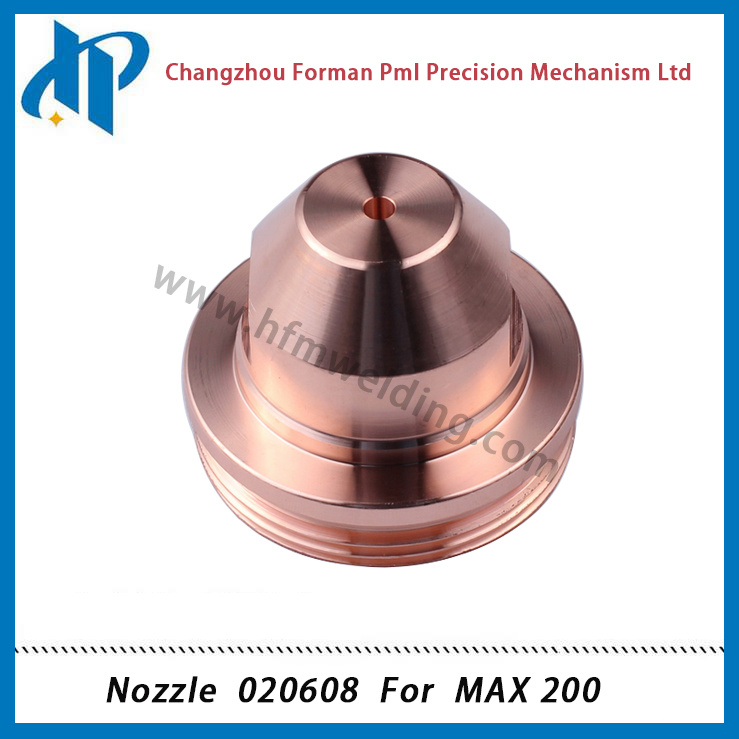 Nozzle 020608 for Max 200 Plasma Cutting Torch Consumables 200A