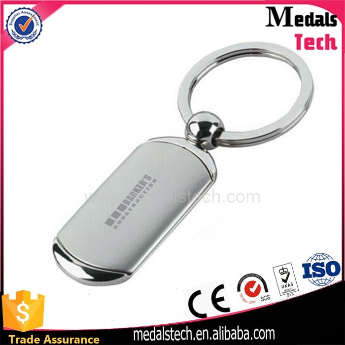 Promotion Wholesale Metal Hard Enamel Round BMW Keychain with Ring