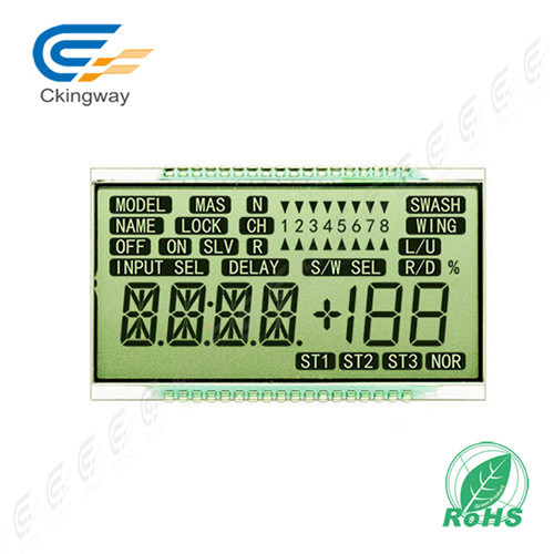 Monochrome Graphic Type  240*68 Stn  LCD  Display