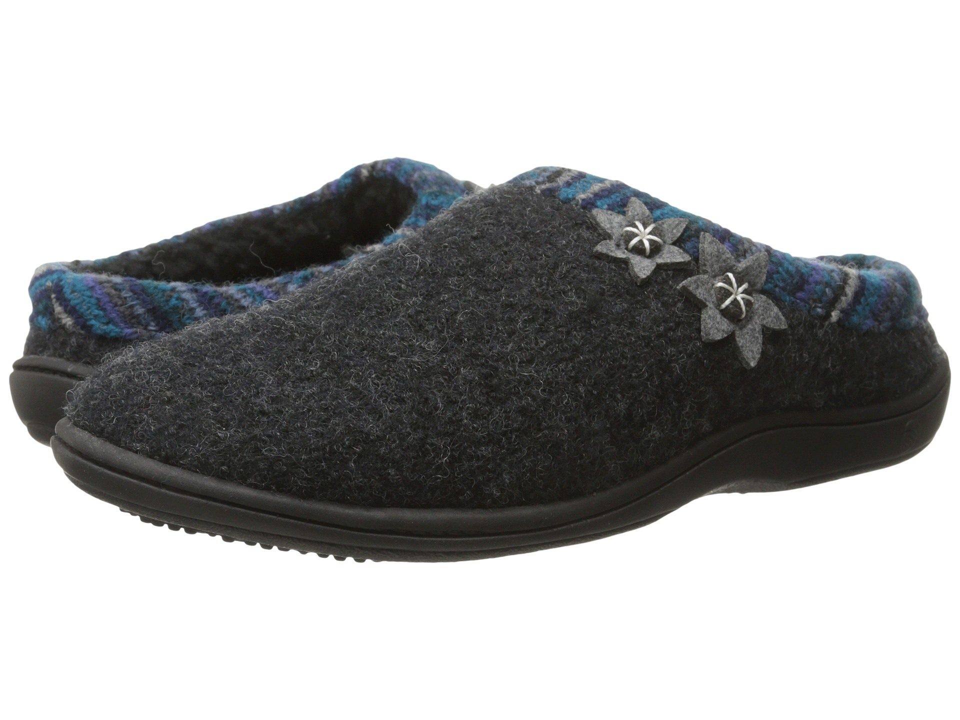 Side Stitch Memory Foam Indoor Slipper