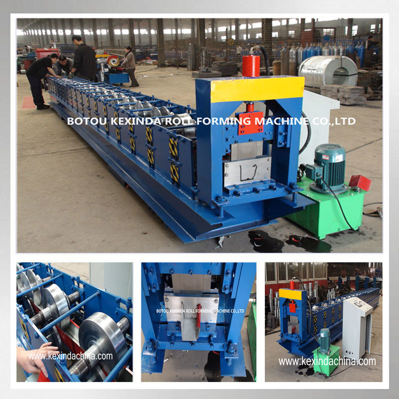 Kxd Rain Gutter Making Machine with High Quality