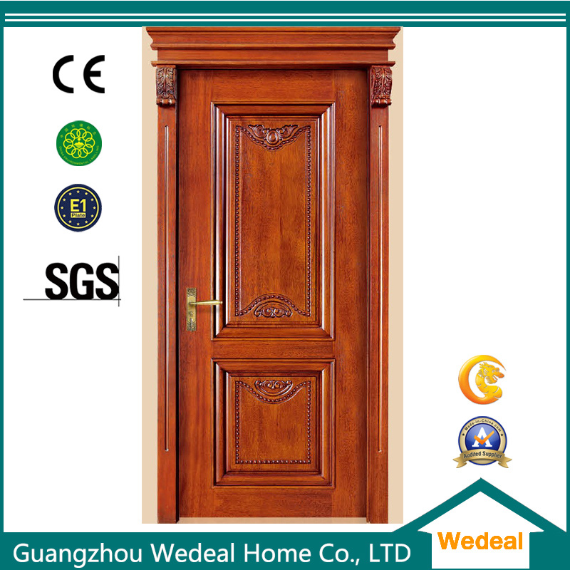 Interior/Exterior Security Solid Wooden Door for Houses