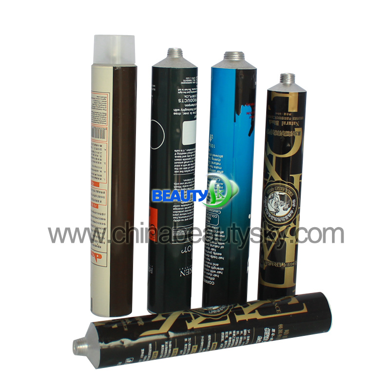 Crema Colorante PATA Cabellos 4c Printing Soft Aluminum Tube 100ml Volume