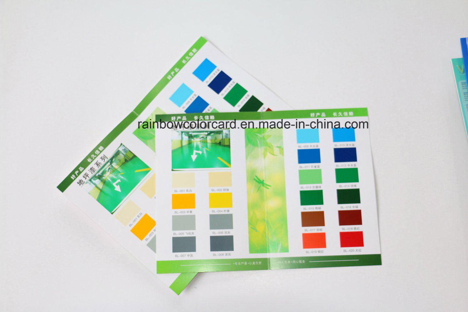 Folded Floor Paint Color Card