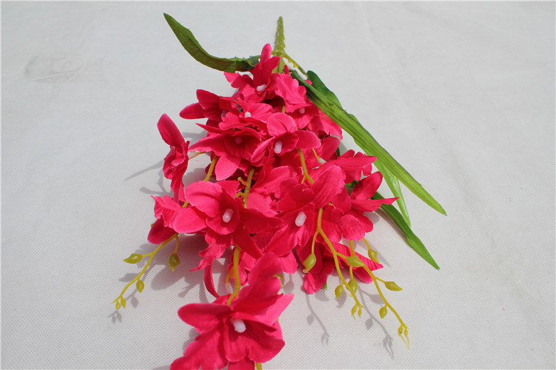 Handmade High Quality Artificial Flower Bouquet for Indoor Decoration