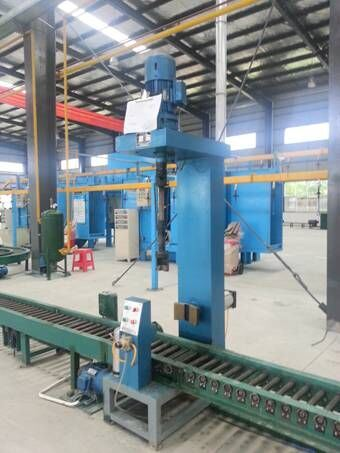 LPG Cylinder Angle Valve Mounting Machine