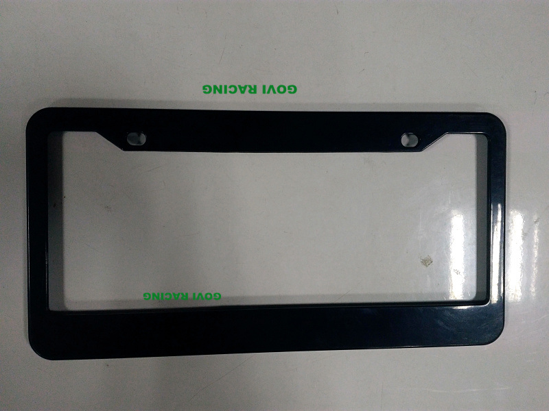 Custom License Plate Frames with ABS 312X160mm Chromed Plate Holder