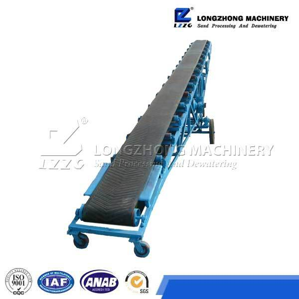 Belt Conveyor Plant for Production Line