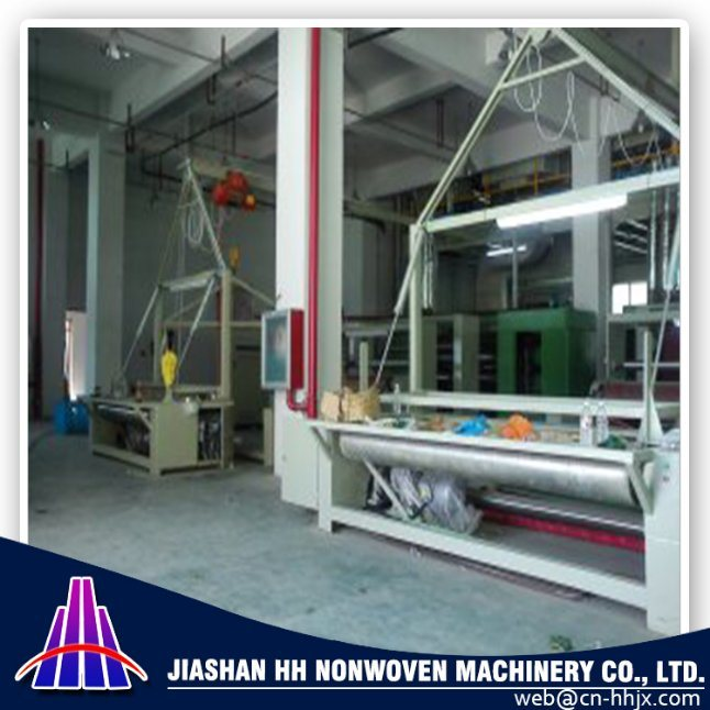 3.2m PP Spunbond Nonwoven Fabric Slitting/Cutting Machine