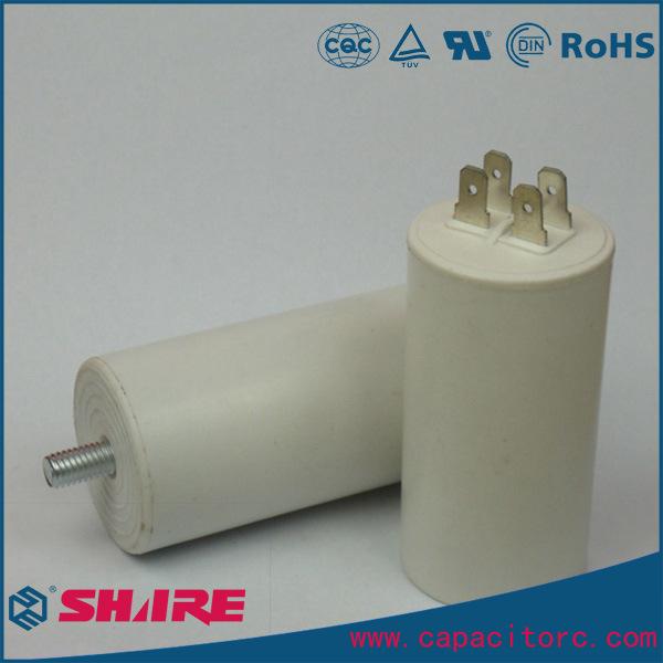 Cbb60 Single Phase AC Film Washing Machine Capacitor