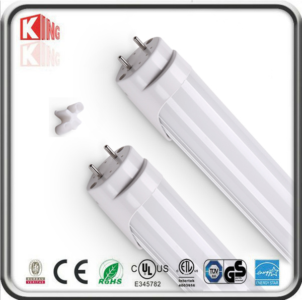 SMD2835 110lm/W ETL Dlc 4FT 18W T8 LED Tube