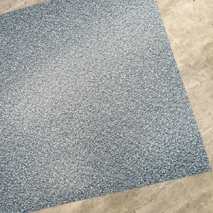 "Carpet Grain PVC Luxury Vinyl Flooring Tiles (18""X18"")"