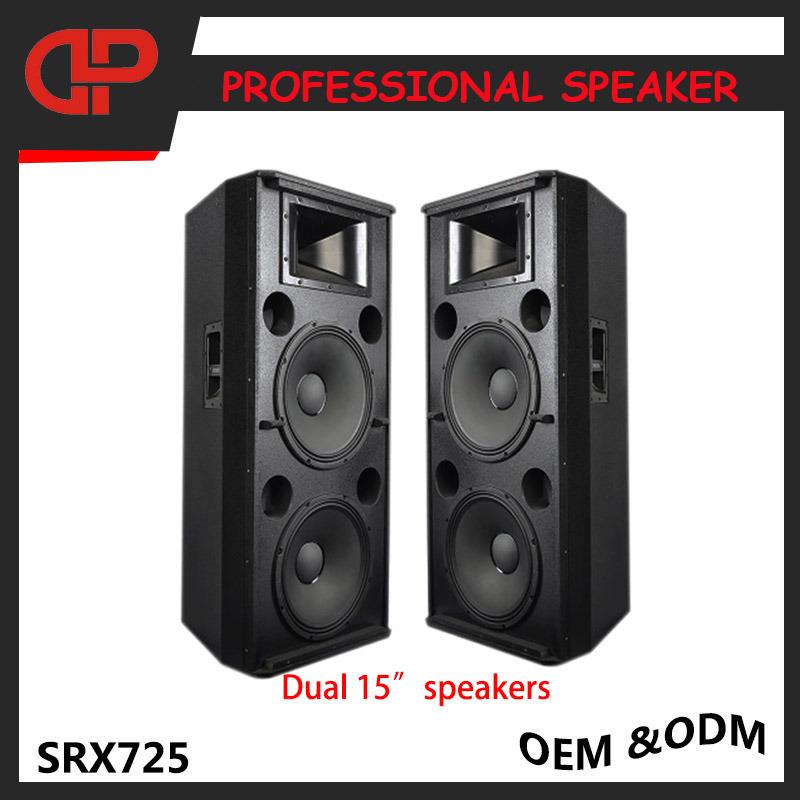 Stage PRO Audio Speaker Dual 15 Inch Loudspeakers Srx725
