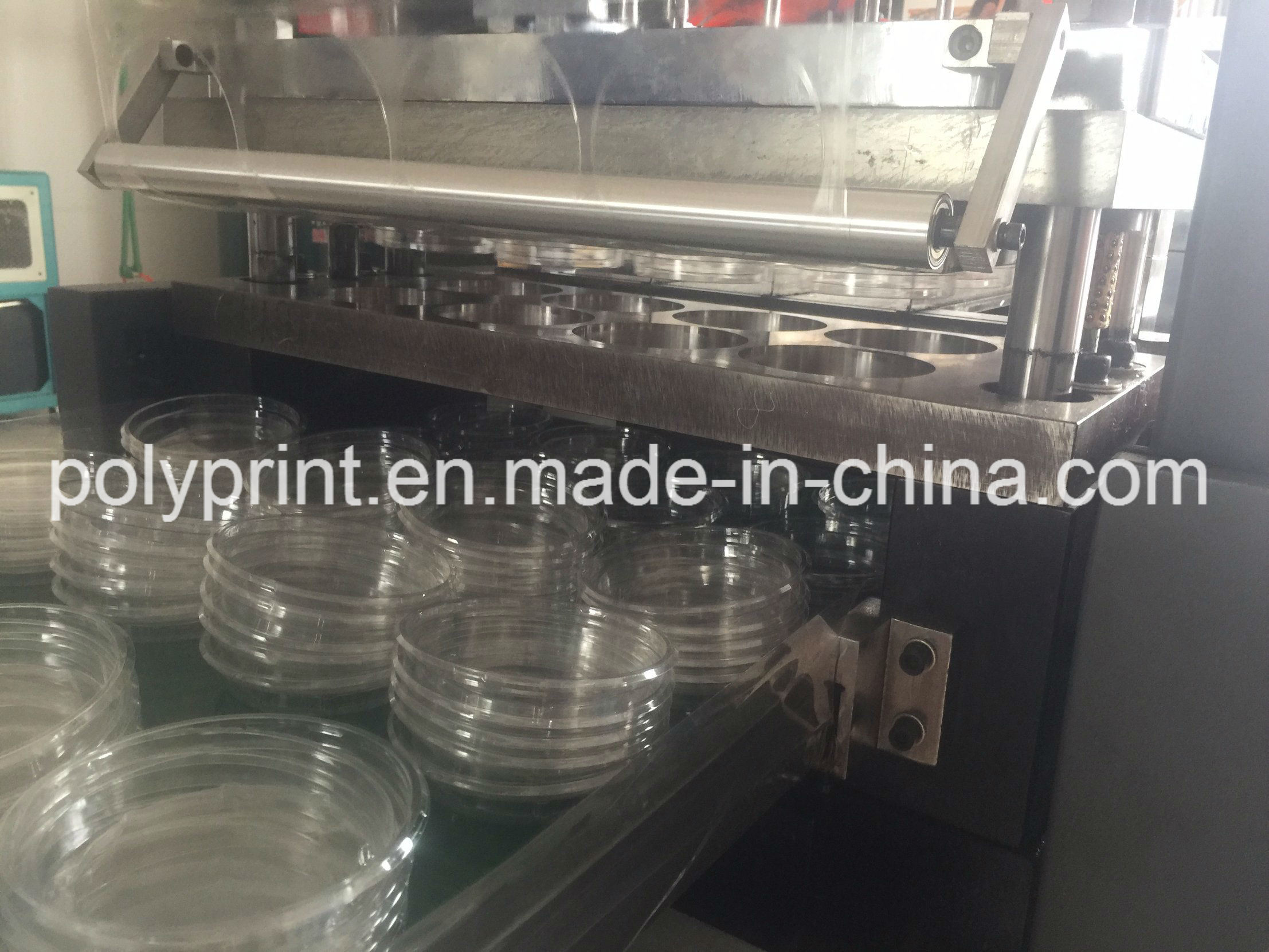 Automatic Pet/PS/PVC Lid Forming Machine Thermoforming Machine