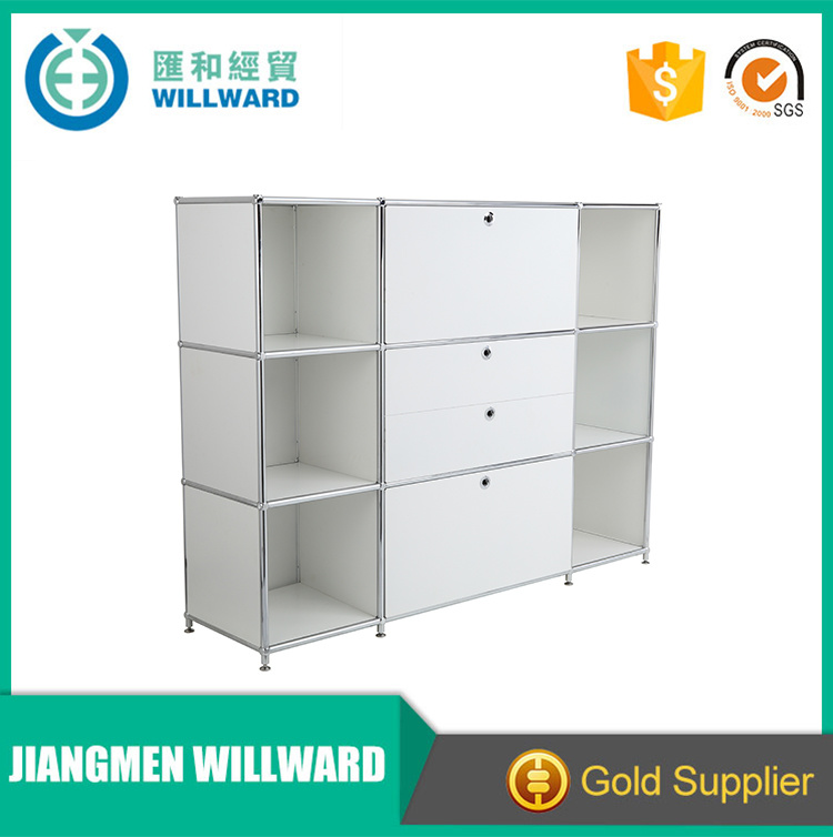 Toy Display Stainless Steel Filing Cabinet with Panels