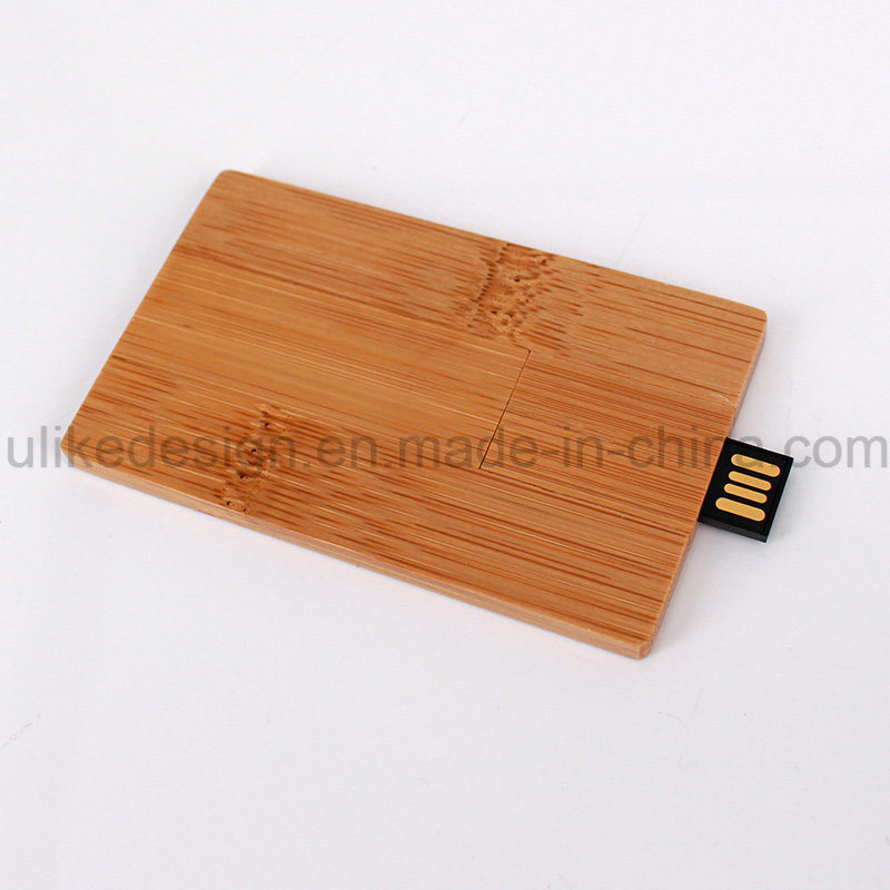 Wooden Card Promotion USB Flash Drive (UL-W022-3) 3.0
