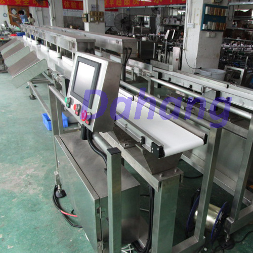 Double Lines Checkweigher/Weight Sorting Machine with High Speed