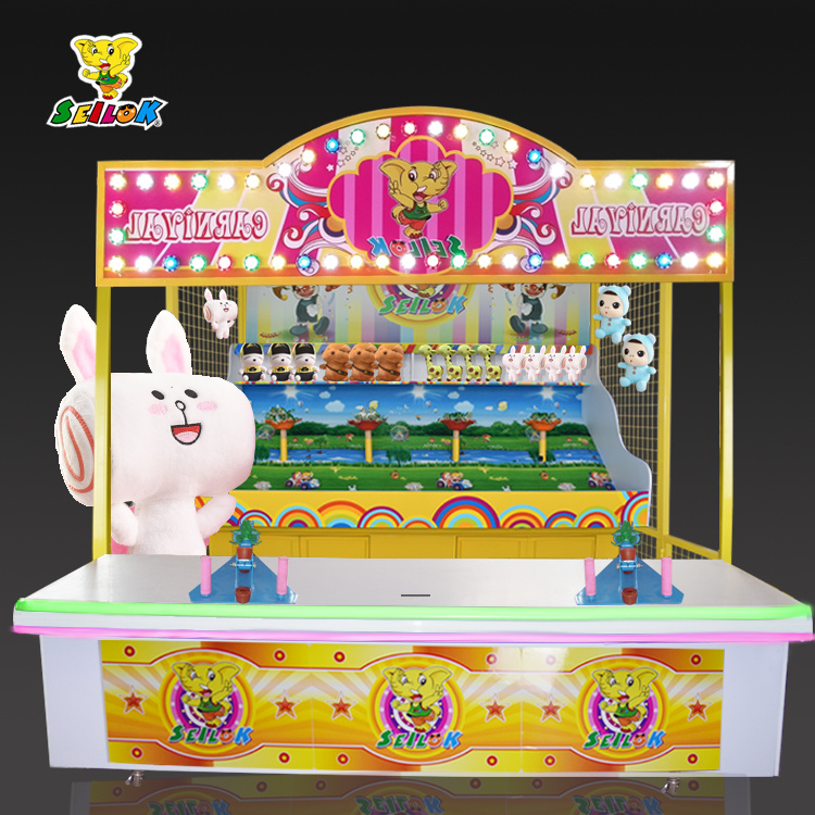 Carnival Game Booth-Frog Jump