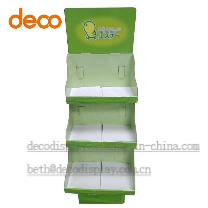 Pop Display Floor Paper Display Cardboard Display Stand