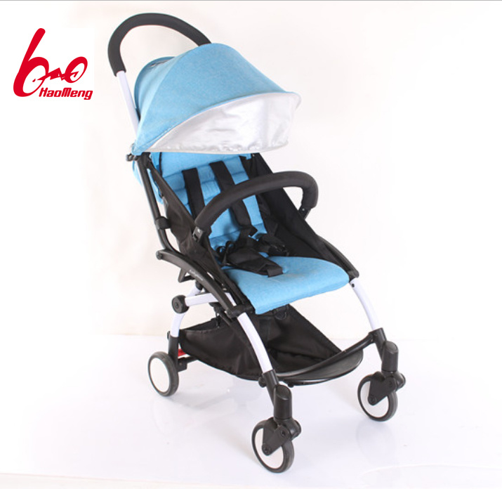 New Aluminium Alloy Baby Stroller Within Fold