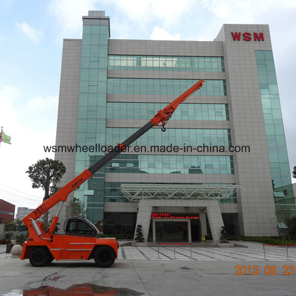 10 Ton Telescopic Boom Forklift Truck with Ce Certification