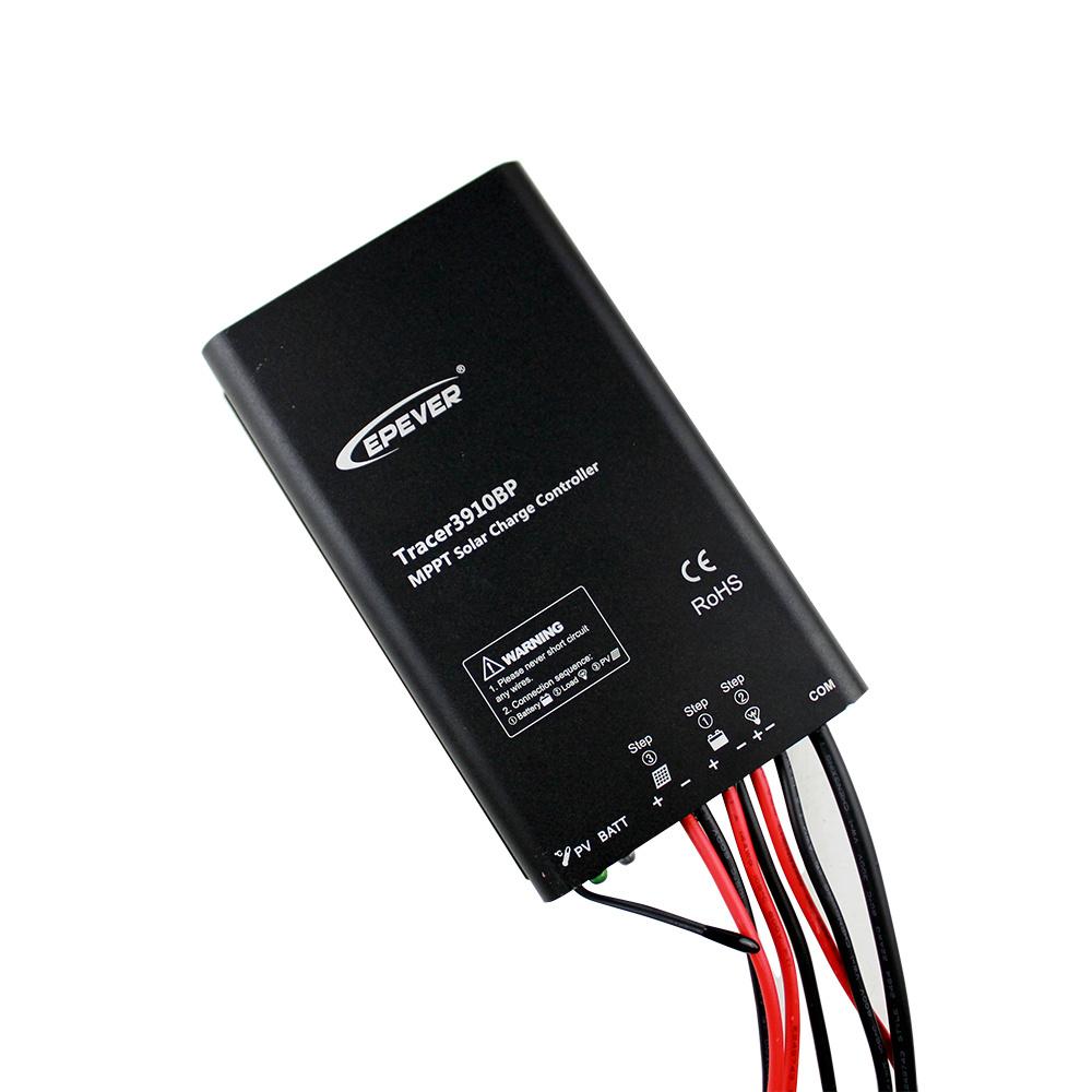 15A Epsolar 12V/24V MPPT Lithium Battery Tracer3910bp Solar Controller