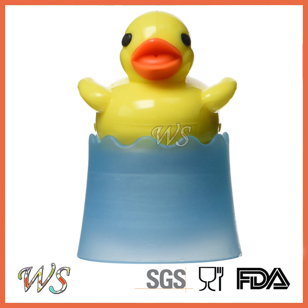 Ws-If021 Floating Duckie Tea Infuser with Stainless Steel and PP Material Tea Strainer