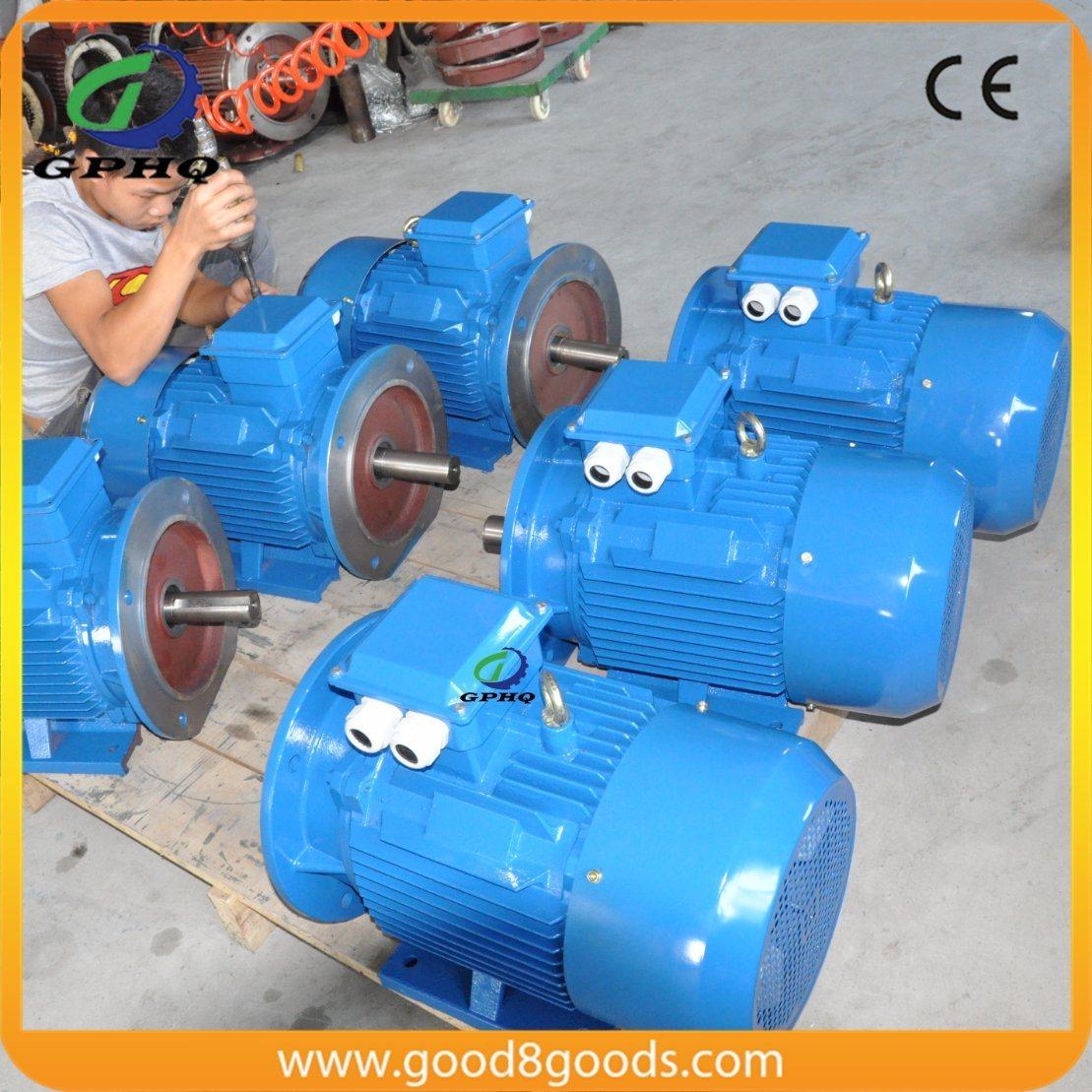 Y2 1HP/CV 0.75kw 2800rpm 50/60Hz Cast Iron Electric Motor