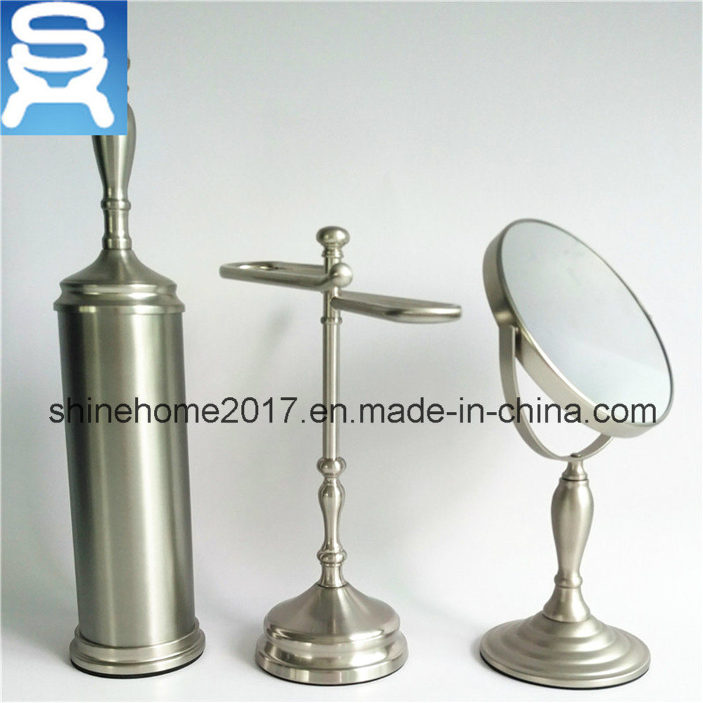 Hotel Bathroom Set Glass and Chrome Plated Bathroom Accessory, Bathroom Accessories