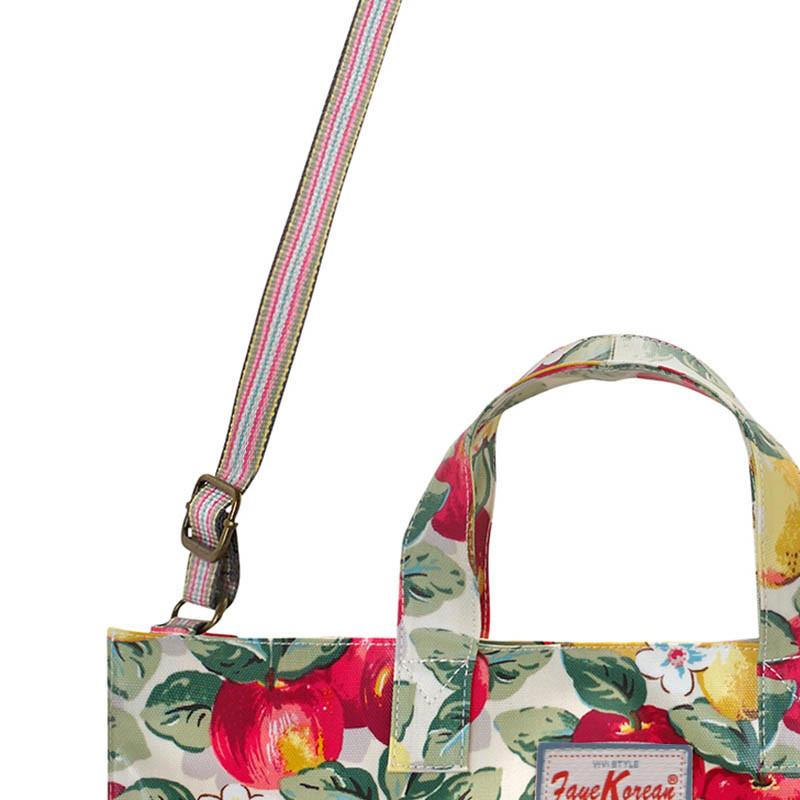 Waterproof Canvas Open Closure Strap Lady Handbag (592987)