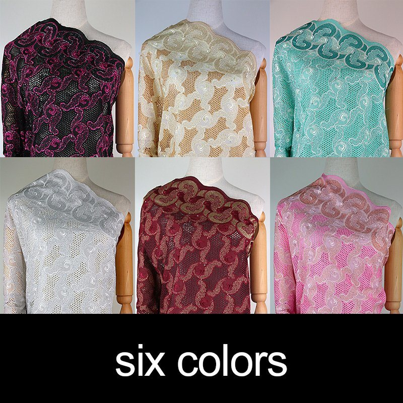 Wholesale Cotton Cheap Embroidery Fabric Factory