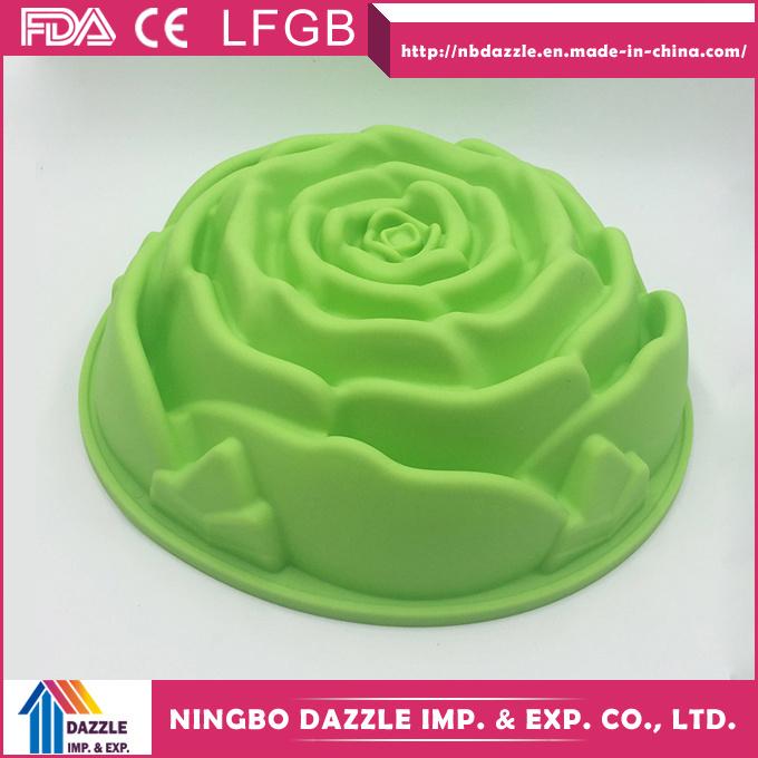 Flower Shape Silicone Cake Baking Molds Cake Moulds