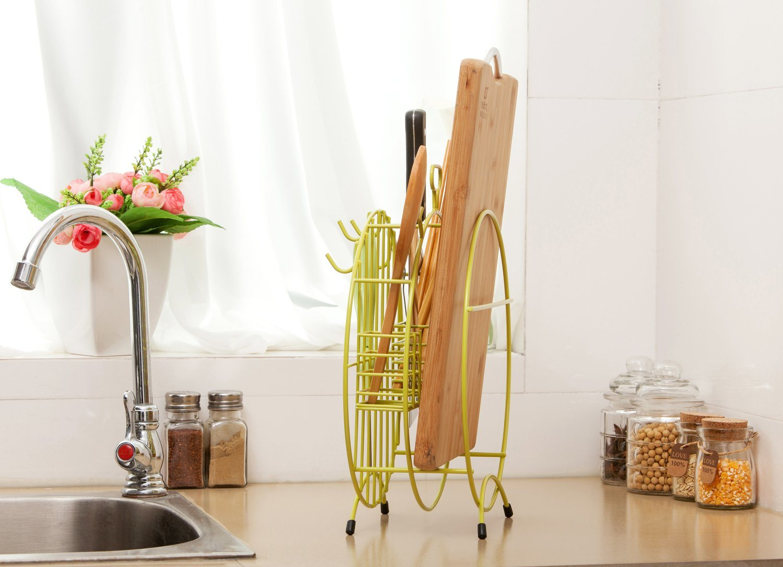 Multifunctional Tool Holder, Metal Rack, Kitchen Rack