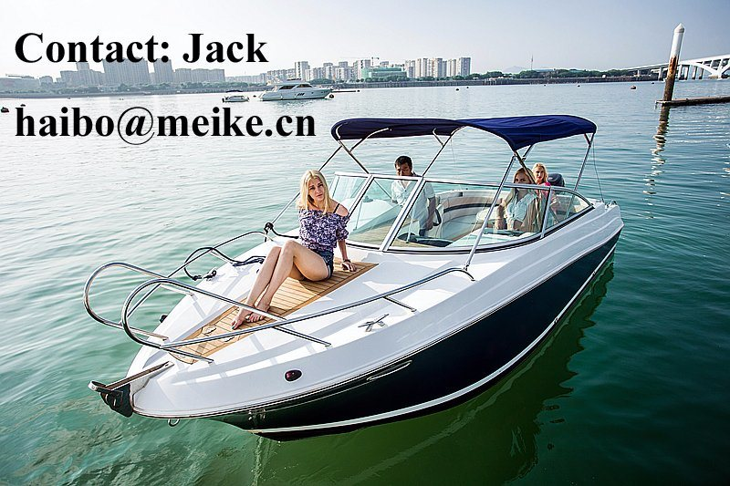 22′ Fiberglass Sporty Leisure Speedboat Hangtong Factory-Direct