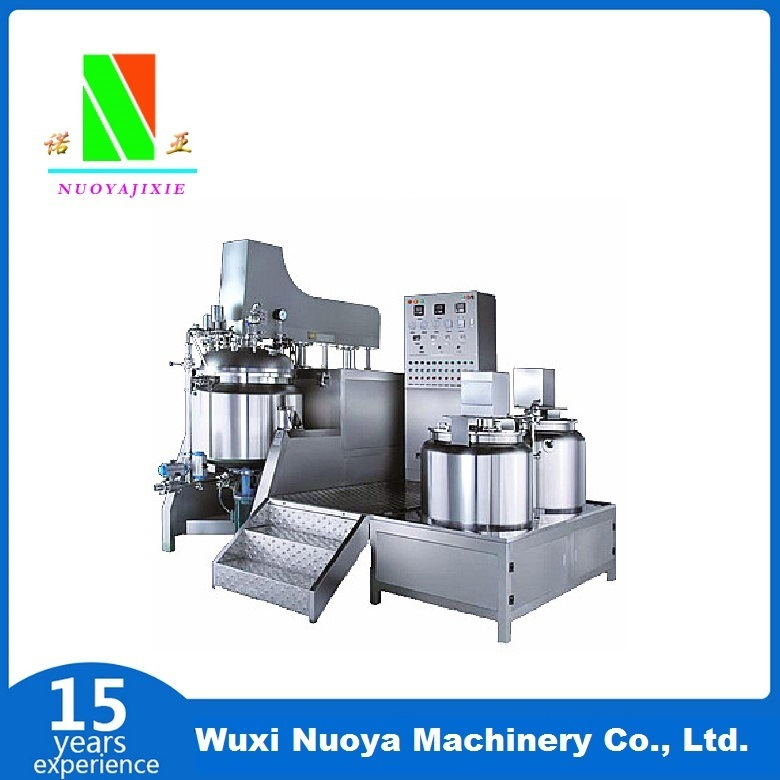 Vacuum Emulsifying Mixer Machine (ZJR-500 ~ 1000L)