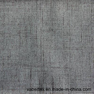 Polyester Woven Velvet Household Textile Upholstery Sofa Fabric