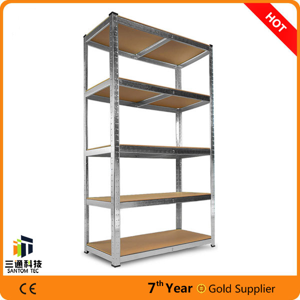 Light Duty Slotted Angle Steel Shelf, Angle Iron Rack