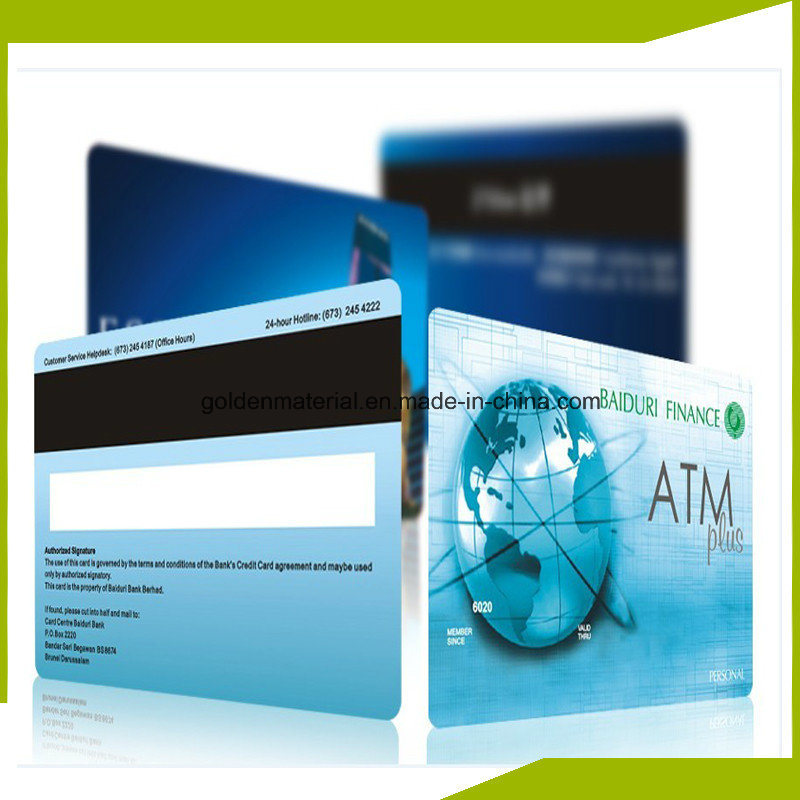 ISO Standard PVC Sheet Bank Plastic Smart Card