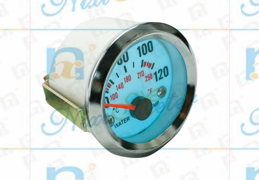 """2"""" 52mm 40-120 Water Temperature Gauge with Cold Light"""