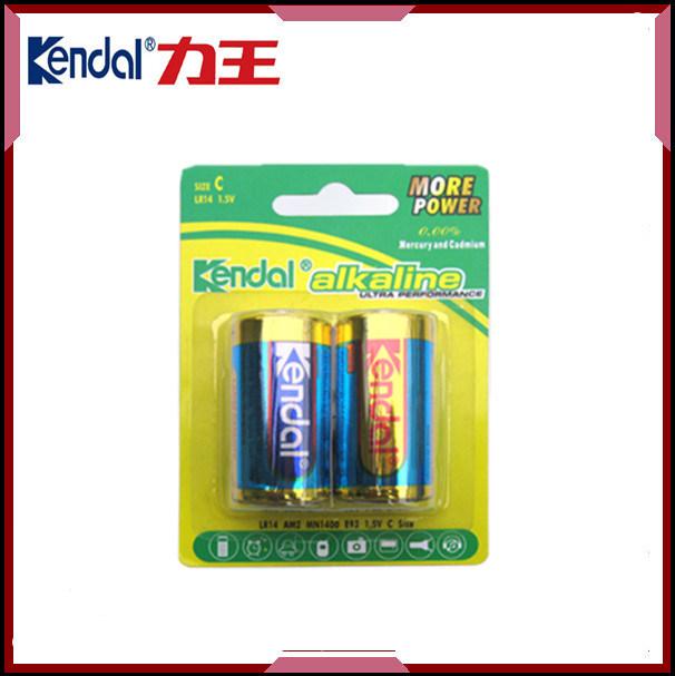 Battery Cell Kendal C Size Lr14 1.5V Battery Alkaline